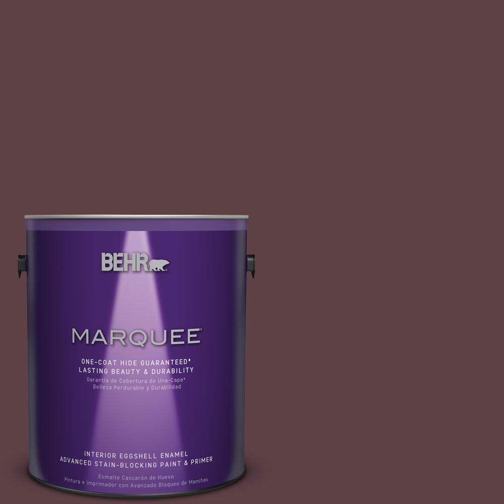 BEHR MARQUEE 1 gal. #MQ1-49 Raspberry Truffle One-Coat Hide Eggshell Enamel Interior Paint