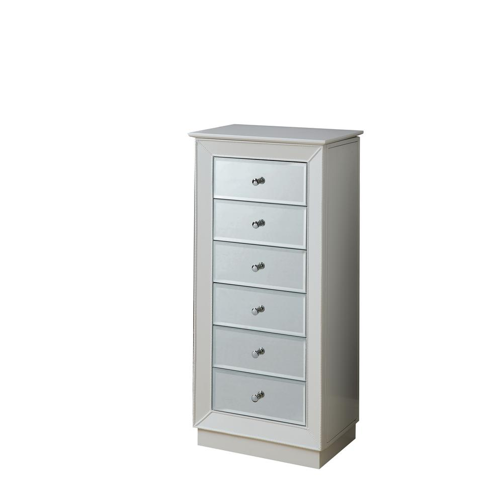 Awesome Acme Furniture Talor White Jewelry Armoire