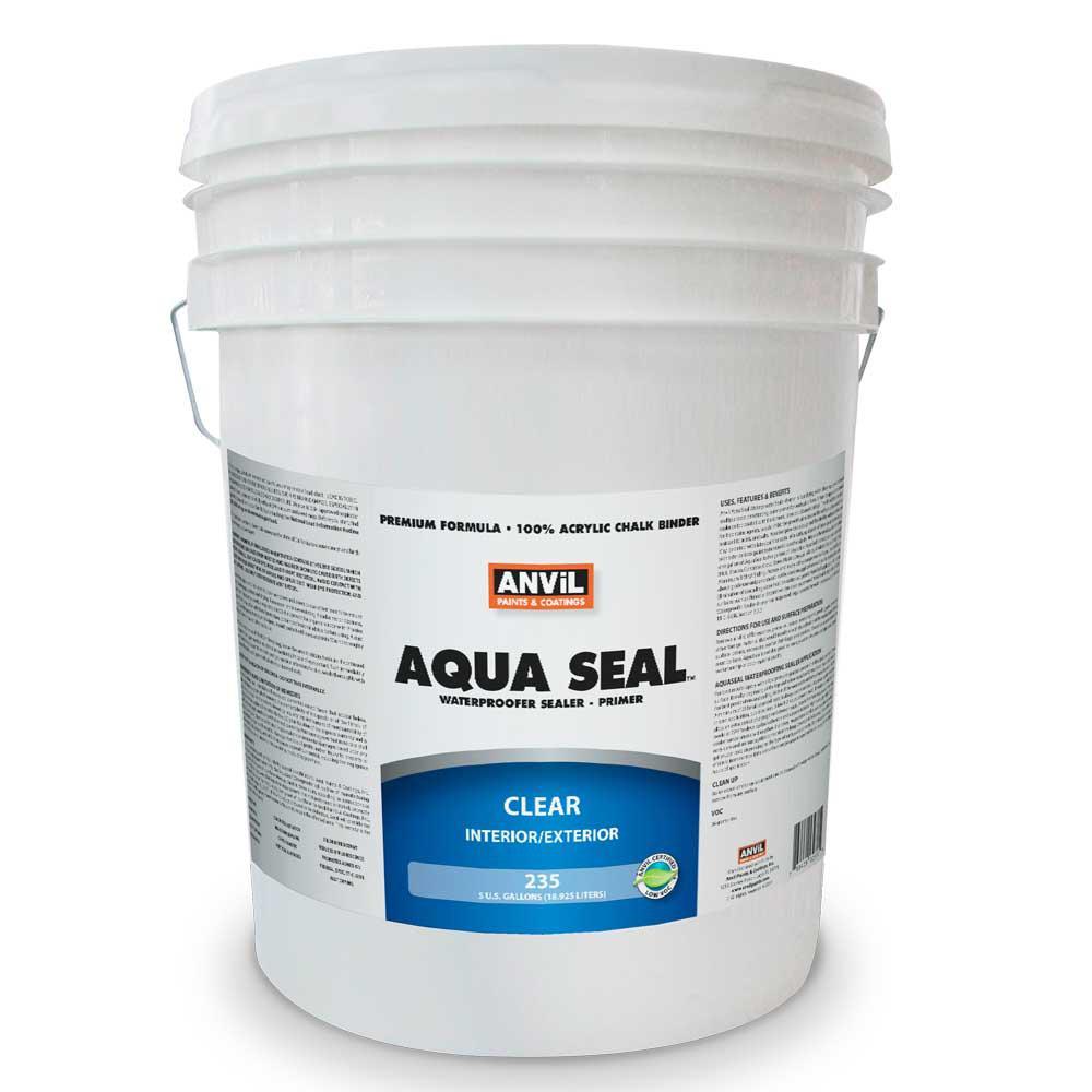 5 gal. AquaSeal Waterproofer Bonding Primer Acrylic Clear