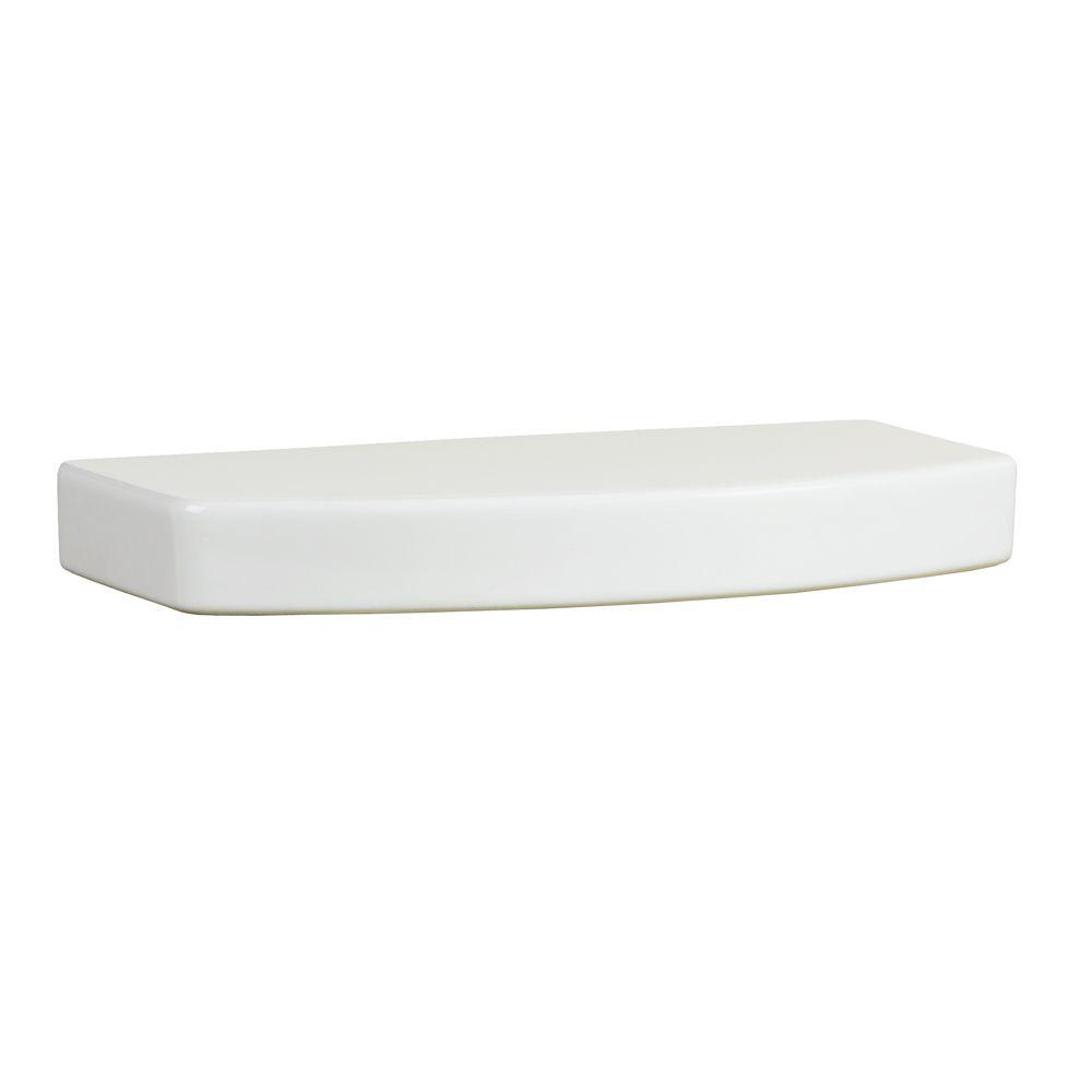 Boulevard Toilet Tank Cover in White