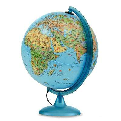 Safari Explorer Blue Animals Globe