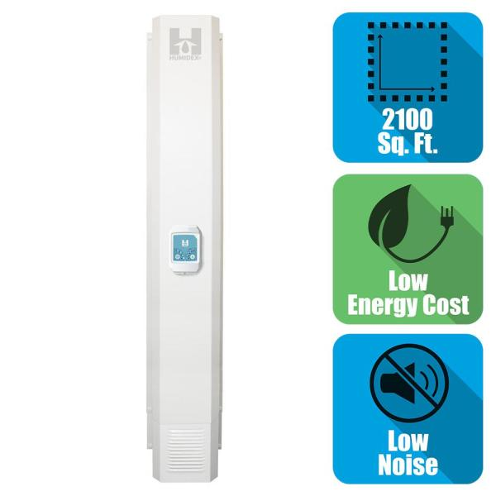 Whole House Basement Energy Efficient Digital Ventilation System/Dehumidifier for 2100 sq. ft.