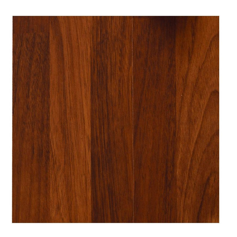 null Brazilian Merbau Laminate Flooring - 5 in. x 7 in. Take Home Sample