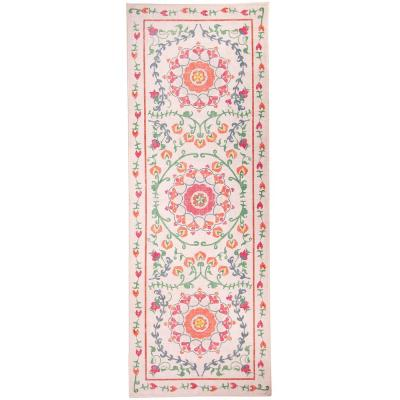 Washable Suzi Coral 2.5 ft. x 7 ft. Stain Resistant Runner Rug