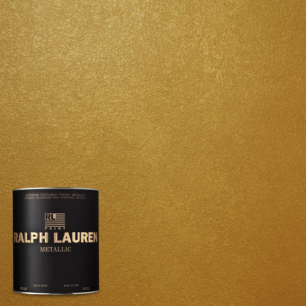 Ralph Lauren 1-qt. Parlor Gold Metallic Specialty Finish Interior Paint