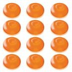 1.25 in. D x 0.875 in. H x 1.25 in. W Orange Floating Blimp Lights (12-Count)