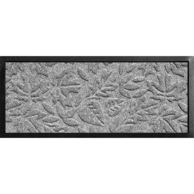Aqua Shield Boot Tray Fall Day Medium Grey 15 in. x 36 in. Door Mat