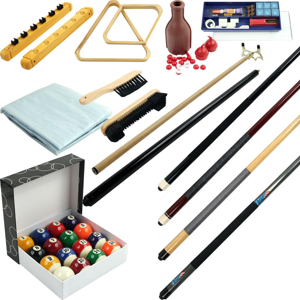 Trademark Games Piece Billiards Accessories Kit For Pool Table - Billiard pool table supplies