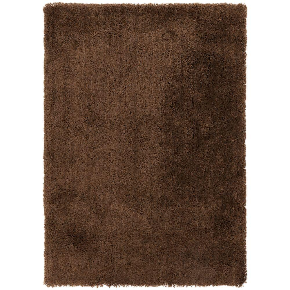 Volker Mocha (Brown) 7 ft. 6 in. x 9 ft. 6 in. Indoor Area Rug