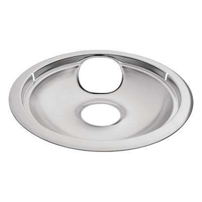 8 in. Chrome Drip Bowl for Non-GE Electric Ranges