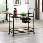 Gardner Industrial Bar Cart