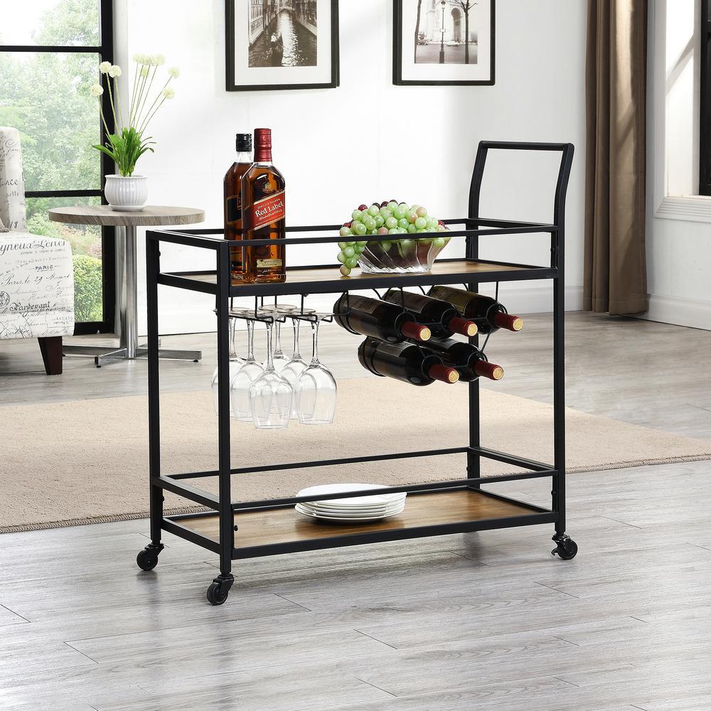 Gardner Industrial Bar Cart