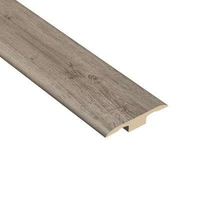 Silver Spur Oak 1/4 in. Thick x 1-7/16 in. Wide x 94 in. Length Vinyl T-Molding