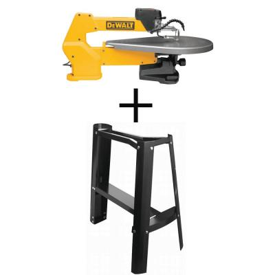 20 in. Variable-Speed Corded Scroll Saw with Bonus Scroll Saw Stand