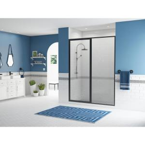 Coastal Shower Doors Paragon 40 In To 41 5 In X 66 In Framed Sliding Shower Door With Towel Bar In Chrome And Obscure Glass 1840 66b A The Home Depot