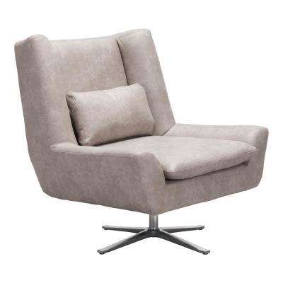 Enzo Distressed Gray Occasional Chair