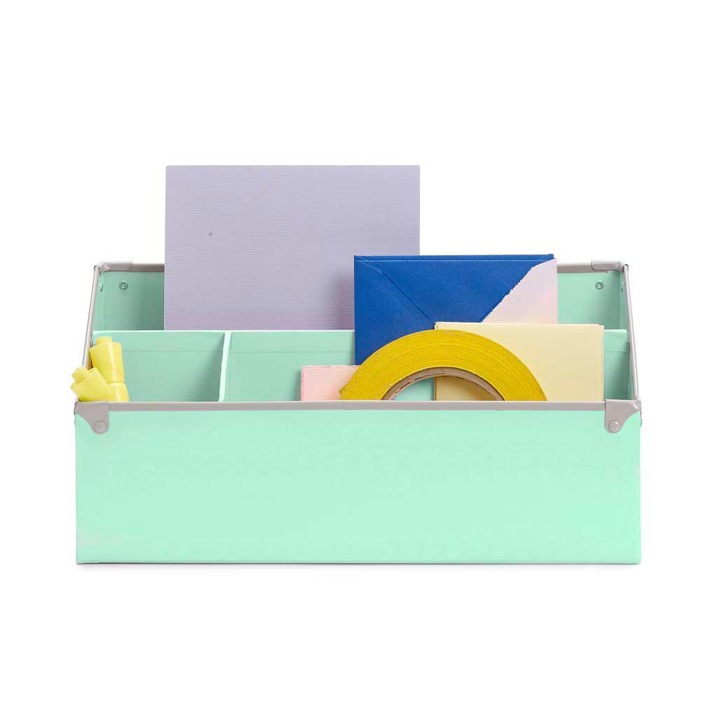 Frisco Mint/Fog Desk Organizer