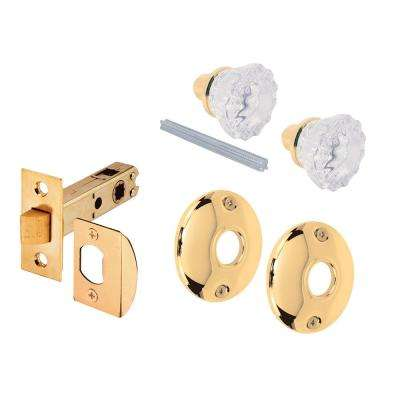 Glass Door Knob Passage Hall/Closet Handleset