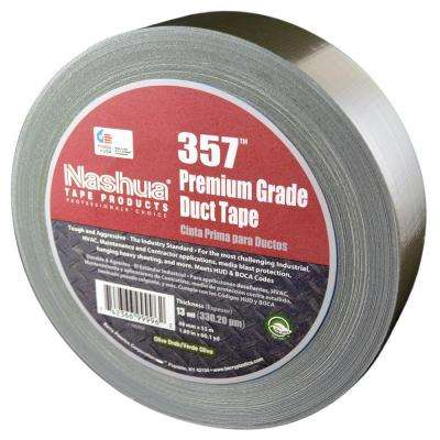 1.89 in. x 60.1 yds. 357 Ultra Premium Olive Drab Duct Tape