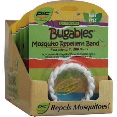 Bugables Citronella Plus Bracelet (Case of 12)