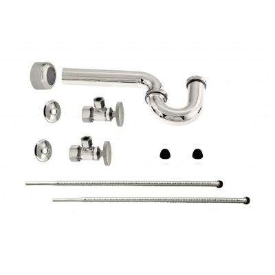 Standard Pedestal Lavatory Supply Kit, Polished Nickel