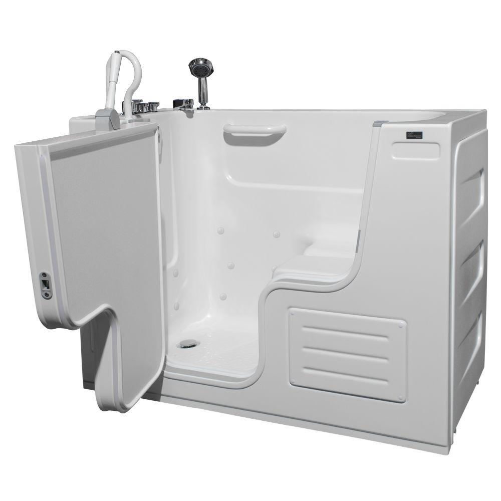 Homeward Bath HydroLife Deluxe 4.25 ft. Left Drain Walk-I...