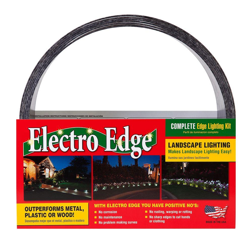 5 in. x 20 ft. Fiberglass Edging with Transformer