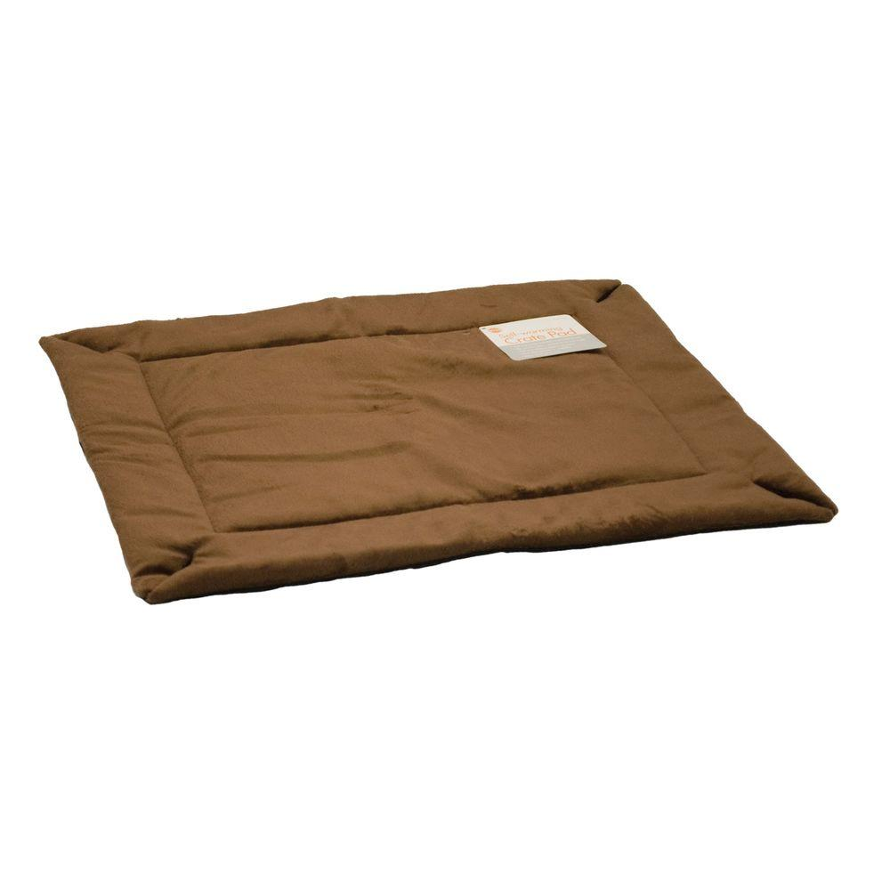K&H Pet Products 37 in. x 54 in. Large Mocha Self-Warming Crate Pad