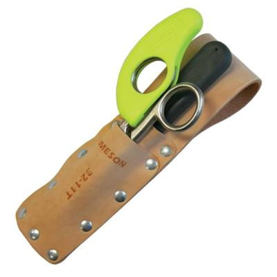 Tunnel Pouch with 3 in. Splicer Scissor and 1.5 in. Skinning Knife