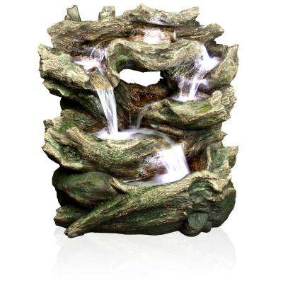 Rainforest Tiered Fountain with LED Lights