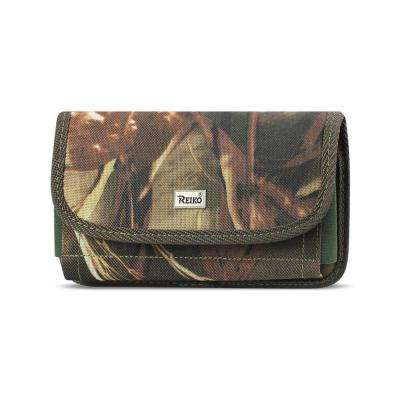 Large Horizontal Rugged Holster in Camouflage
