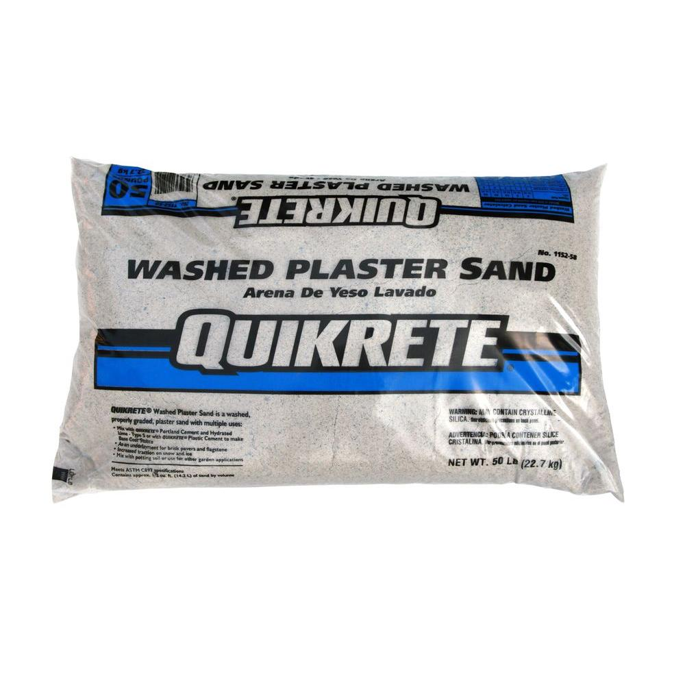 Quikrete 50 lb. Washed Plaster Sand