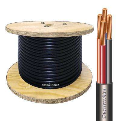 14/4 in. x 100 ft. Wire for Ductless Mini Split Air Conditioner Heat Pump Systems Universal