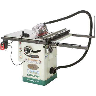 10 in. 2 HP 230-Volt Hybrid Table Saw with Ri-Volting Knife Polar Bear Series