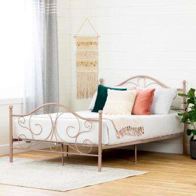 Country Poetry Pink Blush Full Bed