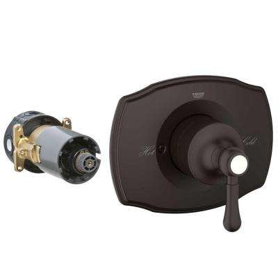 GrohFlex Single Function Pressure Balance Valve Kit - Authentic in Oil-Rubber Bronze (Valve Not Included)