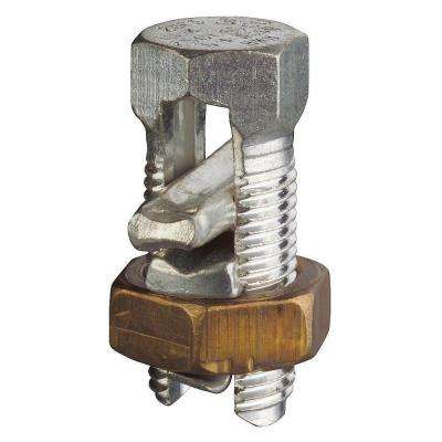 #2 Solid to #8 Solid Dual Rated Split Bolt Connector (Case of 5)