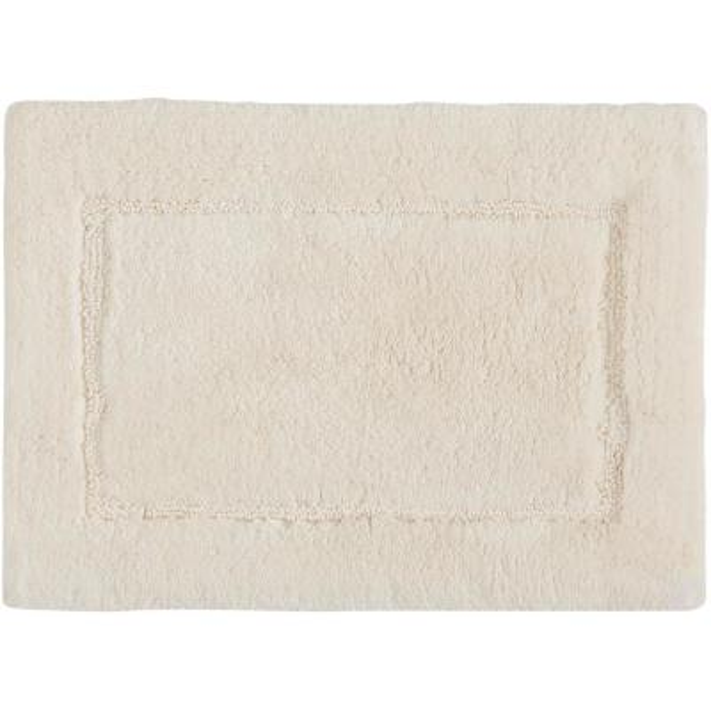 Regency Parchment 1 ft. 5 in. x 2 ft. Cotton Bath Rug