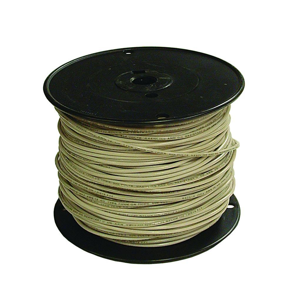 Southwire 500 ft. 12 White Stranded CU XHHW Wire-37102171 - The Home ...