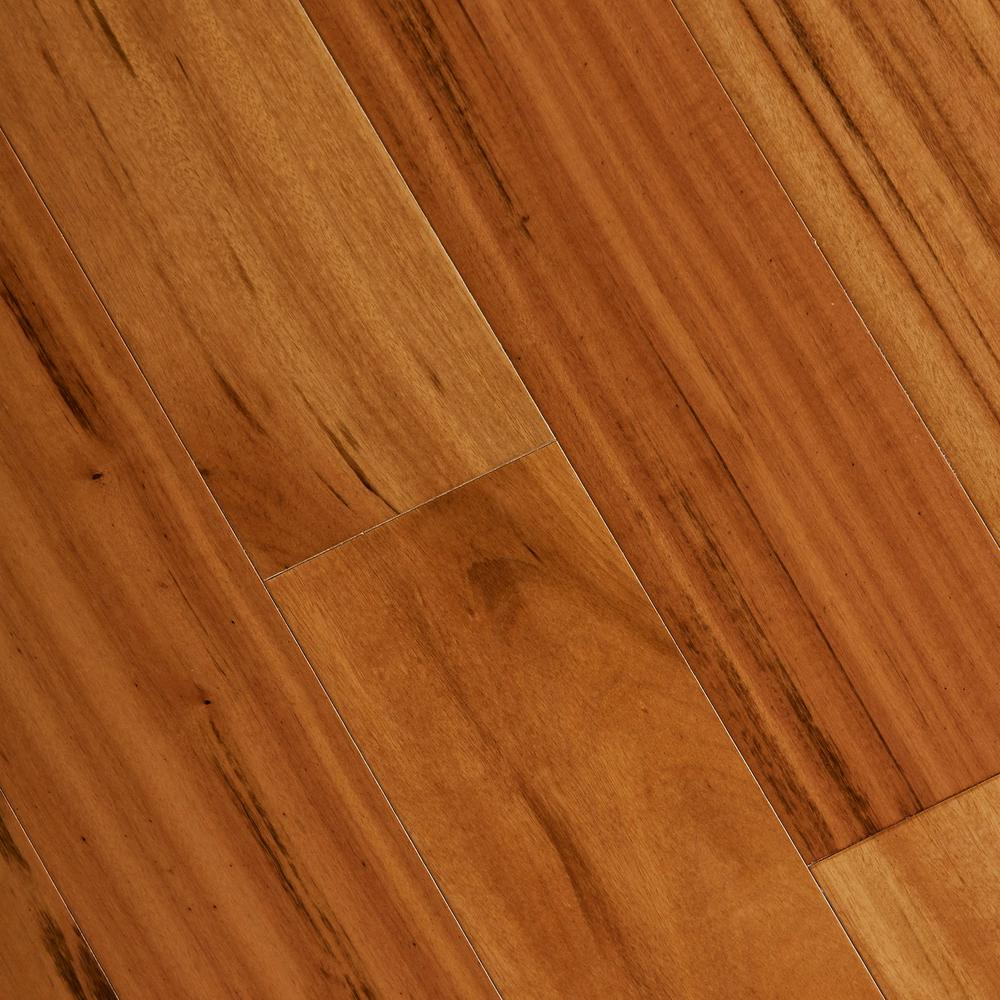 Home legend tigerwood 3 8 in thick x 5 in wide x varying for Home hardwood flooring