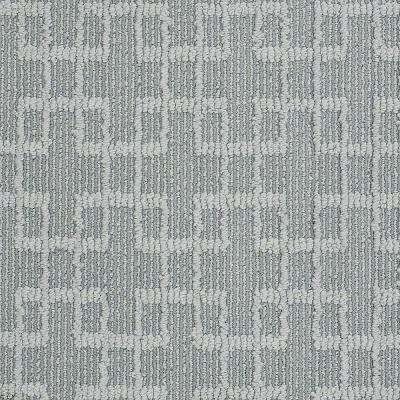 Carpet Sample - Quilted Dreams- In Color Cascade 8 in. x 8 in.