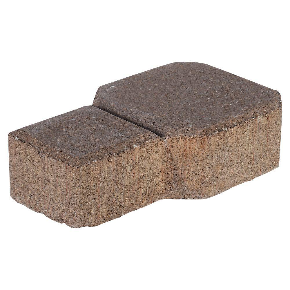 Decora 9 in. x 5.5 in. x 2.25 in. Tan/Brown Concrete