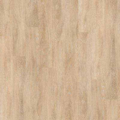 New Liberty 6 mil 6 in. x 48 in. White Daisies Resilient Vinyl Plank Flooring (53.93 sq. ft. / case)