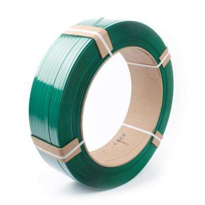 3250 ft. x 1/2 in. x .028 in. 820 lb. Polyester Hand Strapping, Green