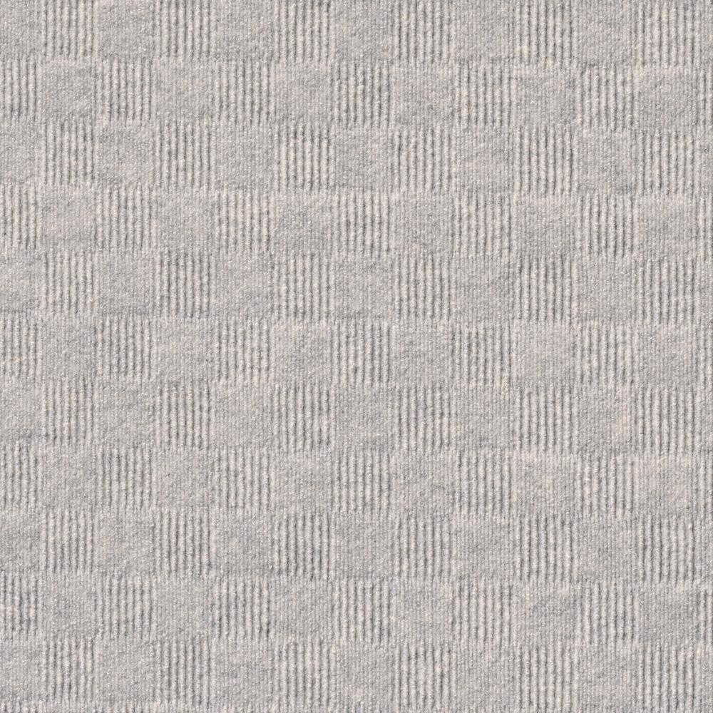Foss Premium Self-Stick First Impressions City Block Oatmeal Texture 24 in. x 24 in. Carpet Tile (15 Tiles/Case)