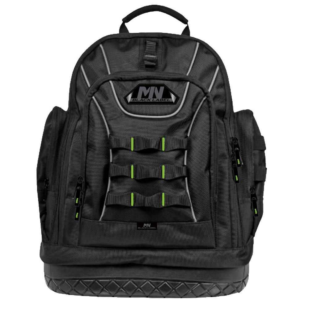 Mn Black Label Ballistic Back Pack With Rubber Bottom 75