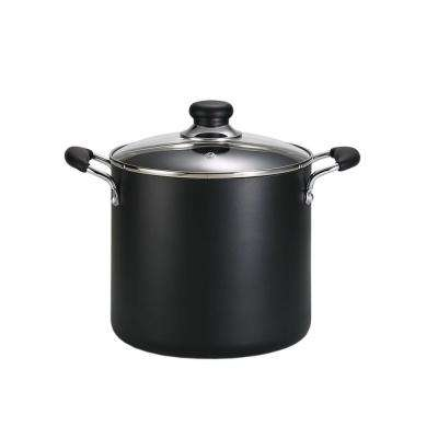 Specialty 12 Qt. Aluminum Stock Pot with Heat Resistant Handle