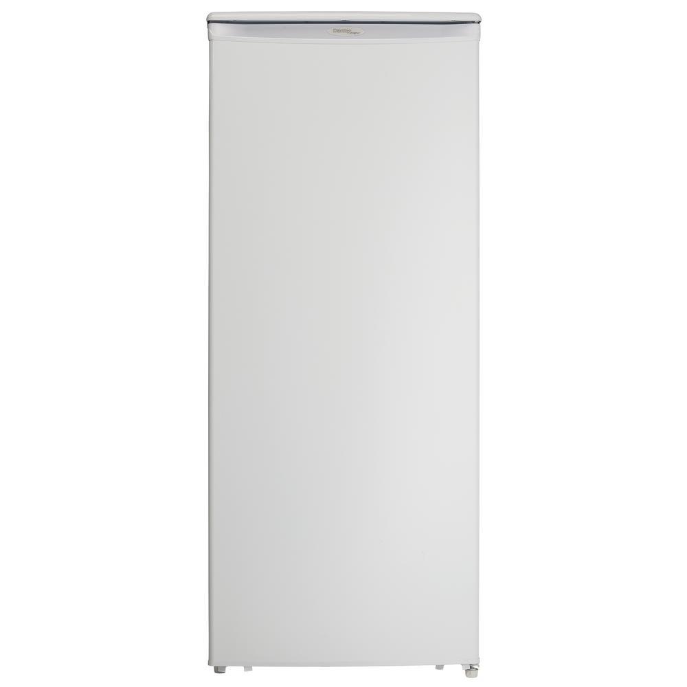 Danby Designer 10 cu. ft. Manual Defrost Upright Freezer in White