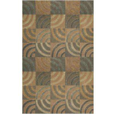 Lifestyle Newton Tan 5 ft. x 8 ft. Area Rug