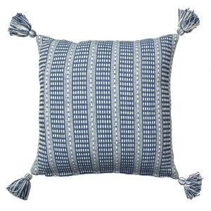 LR Resources LR07310 Blue 18 inch x 18 inch Decorative Pillow by LR Resources